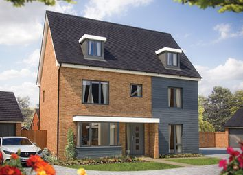 "Thumbnail 5 bed detached house for sale in ""The Stratford"" at Fields Road, Wootton, Bedford"