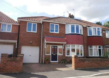 Thumbnail 4 bed semi-detached house for sale in Hamilton Way, Holgate, York