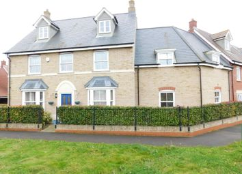 Thumbnail 5 bedroom end terrace house for sale in Valerian Way, Stotfold, Hitchin