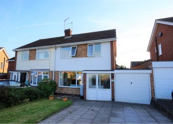 Thumbnail 3 bed semi-detached house for sale in Lea Close, Stratford-Upon-Avon