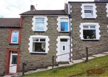 Thumbnail 3 bed terraced house for sale in Argoed, Blackwood