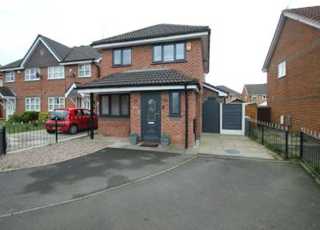 Thumbnail 3 bed detached house for sale in Warslow Drive, Sale