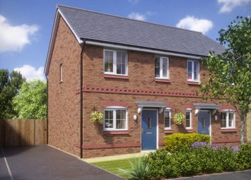 Thumbnail 3 bedroom semi-detached house for sale in Cromwell Road, Ellesmere Port