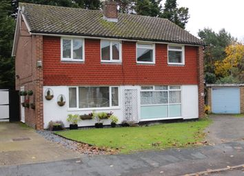 Thumbnail 3 bed semi-detached house for sale in Ongar Place, Addlestone, Surrey