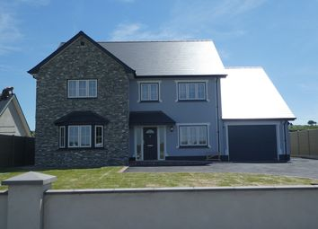 Thumbnail 4 bed detached house for sale in Cefn Farm Development, Rhydargaeau, Carmarthen