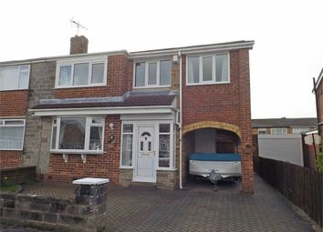 Thumbnail 4 bed semi-detached house for sale in Rudston Close, Thornaby, Stockton-On-Tees, North Yorkshire