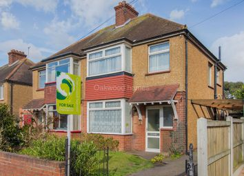 Thumbnail 3 bed semi-detached house for sale in Maynard Avenue, Margate
