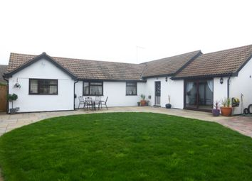 Thumbnail 3 bed detached bungalow for sale in Burrowmoor Road, March