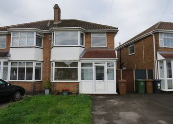 Thumbnail 3 bedroom semi-detached house for sale in Wyckham Road, Castle Bromwich, Birmingham