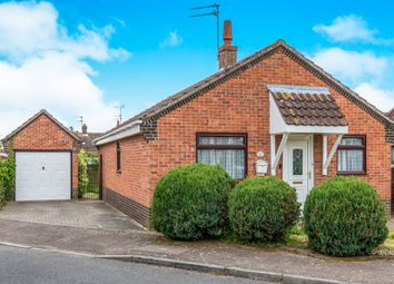 Thumbnail 3 bed detached bungalow for sale in Rosa Close, Spixworth, Norwich