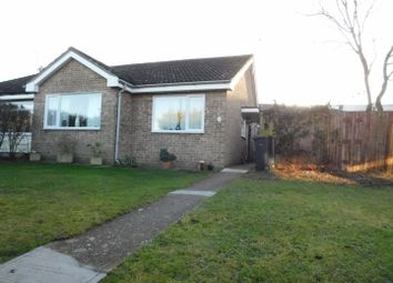 Thumbnail 2 bed semi-detached bungalow for sale in Delius Close, Stowmarket