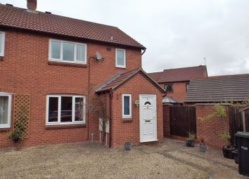 Thumbnail 3 bed terraced house to rent in Taunton Close, Chippenham