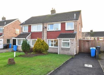 Thumbnail 3 bed semi-detached house for sale in Yew Tree Close, Newton, Preston
