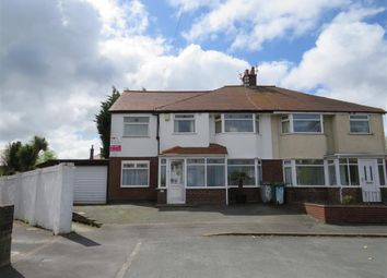 Thumbnail 4 bed semi-detached house for sale in Pine View Drive, Pensby, Wirral