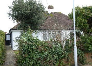 Thumbnail 2 bed semi-detached bungalow to rent in Copthorne Hill, Worthing, West Sussex