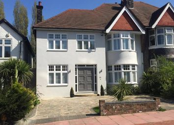 Thumbnail 4 bed semi-detached house for sale in Church Vale, East Finchley, London