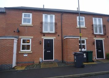 Thumbnail 2 bed flat to rent in Easton Court, Swadlincote, Derbyshire