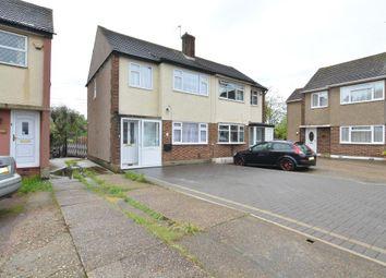 Thumbnail 3 bed semi-detached house for sale in Eastwood Drive, Rainham, Essex