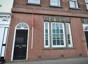 Thumbnail 1 bed flat to rent in Horninglow Street, Burton On Trent, Town Centre