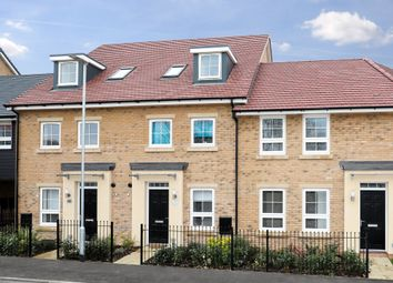 "Thumbnail 4 bed terraced house for sale in ""Helmsley"" at Knights Way, St. Ives, Huntingdon"