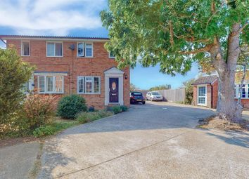 Thumbnail 2 bed semi-detached house for sale in Quinnell Drive, Hailsham
