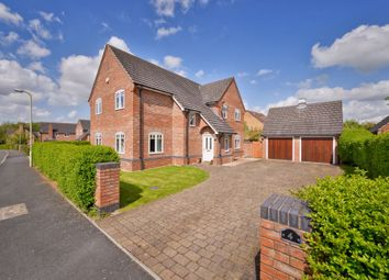 Thumbnail 4 bed detached house for sale in Elmhurst Coppice, Muxton
