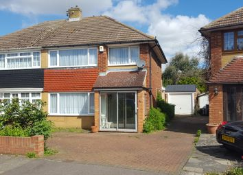 Thumbnail 3 bed semi-detached house for sale in Clipper Crescent, Gravesend