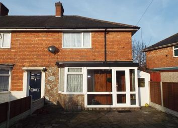 Thumbnail 3 bed end terrace house for sale in Rawdon Grove, Birmingham, West Midlands