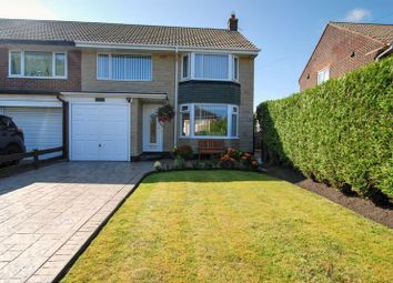 Thumbnail 3 bed semi-detached house for sale in Plessey Road, Blyth