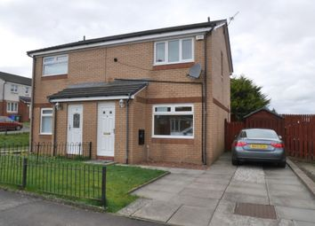 Thumbnail 2 bed semi-detached house for sale in Ravenscraig Terrace, Glasgow