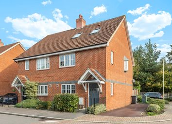 Thumbnail 4 bed semi-detached house for sale in Tunworth Close, Fleet