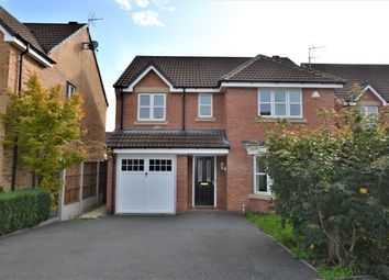 Thumbnail 4 bed detached house for sale in Nettleton Close, Littleover, Derby