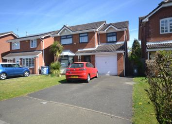 Thumbnail 4 bed detached house for sale in Welshpool Close, Callands, Warrington