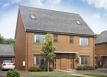 Thumbnail 4 bed semi-detached house for sale in Plot 52 The Becket, Bramshall Meadows, Uttoxeter