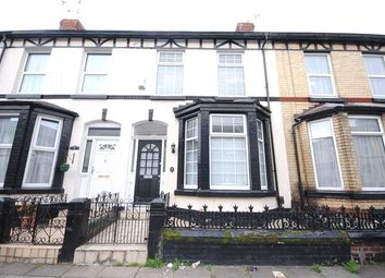 Thumbnail 3 bed terraced house for sale in Ferndale Road, Wavertree, Liverpool