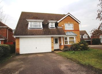 Thumbnail 4 bed detached house to rent in Lilleshall Drive, Elstow, Bedford