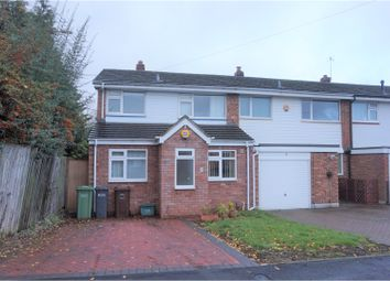 Thumbnail 3 bedroom semi-detached house for sale in Merecote Road, Solihull