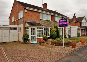 Thumbnail 3 bed semi-detached house for sale in Boyers Walk, Leicester Forest East, Leicester