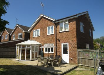 Thumbnail 5 bed detached house for sale in Quantock Drive, Ashford