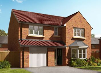 "Thumbnail 4 bed detached house for sale in ""The Haxby"" at Holme Road, Market Weighton, York"