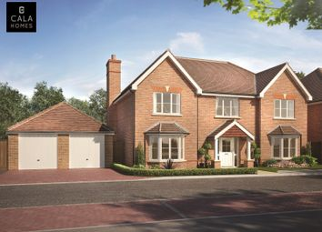 Thumbnail 5 bedroom detached house for sale in Barkham Road, Wokingham