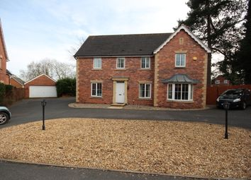 Thumbnail 5 bed detached house to rent in Castle House Drive, Stafford
