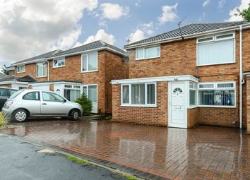 Thumbnail 3 bed semi-detached house for sale in Larkhill Crescent, Sinfin, Derby