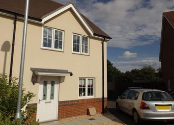 Thumbnail 3 bed semi-detached house for sale in Bishopdown, Salisbury, Wiltshire