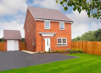 "Thumbnail 4 bed detached house for sale in ""Chester"" at Newton Lane, Wigston"