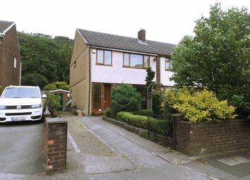 Thumbnail 3 bed semi-detached house for sale in Wildbrook, Taibach, Port Talbot, Neath Port Talbot.