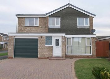 Thumbnail 5 bed detached house for sale in Oakley Drive, Cramlington