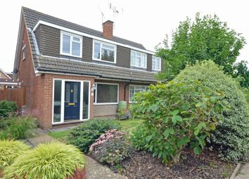 Thumbnail 3 bed semi-detached house for sale in Kepple Place, Bagshot, Surrey