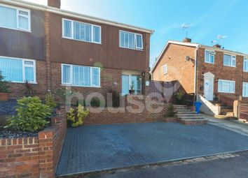 Thumbnail 3 bed semi-detached house for sale in Furze Hill Crescent, Minster On Sea, Sheerness