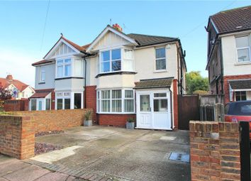 Thumbnail 3 bed semi-detached house for sale in St Georges Road, Worthing, West Sussex